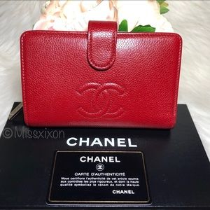 ❤️CHANEL Timeless Zipped Pocket Wallet
